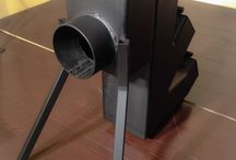 IRON PRODUCTS | 100-150 type Rocket Stove