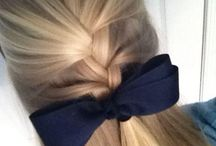 Braid up with bow