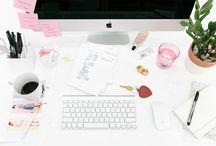 Home Office / decoração e organização de Home Offices