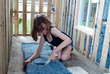 Shelters For The Homeless / Amazing 9 year old girl, Hailey Fort, from Bremerton, Washington, USA, builds shelters for the homeless and even grows food for them.