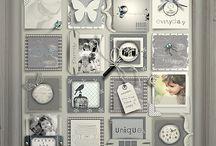 Tableau collage idées