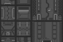 Sci Fi Tiles