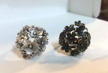 Boho Rings, Silver Bohemian Ring, Beautiful Bohemian Ring With Cravings, Silver Gypsy Ring, Boho Style, Delicate Ring, Statement Silver Ring