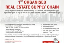 Real Estate Franchisee / Discounted Flats (DF), is one of the largest real estate intermediary firm that deals with lands and  properties. As, real estate thriving in the market, DF has expanded, across several locations, giving new opportunities to our franchise owing to the increase in several tie ups with builders and developers.