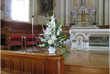 For Religious Ceremonies & Reception / Floral Arrangements For Religious Ceremonies & Reception