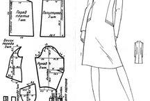 кройка и шитье / выкройки женской одежды