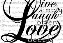 Line laugh love joy hope peace