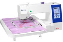eXpressive 830 / Explore your creative side with elna's most advanced embroidery-only machine, the new eXpressive 830.