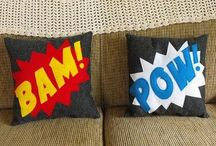 Comic book Decor / Ideas for our new home