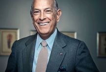 """Oscar de la Renta at b.Hughes Bridal / b.Hughes Bridal carries Oscar de la Renta. Oscar has and will always have an impact in the Fashion world. His designs are sleek ,classic but each gown has the """"Oscar Touch"""" and we are so happy to showcase his grand designs"""