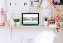 Workspace / Dream offices, studios, nooks and workspaces from blogging on your sofa to the perfect space