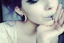Готика макияж