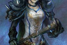 Elfa armadura pesada