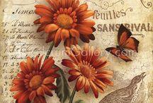 А Скрапбукинг (цветы рисунки)
