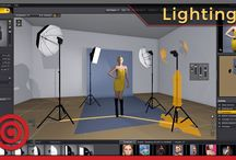 Lighting Tutorials for Photographers / Everything from speedlights to monolights and all the light modifiers you can imagine.  There are videos about studio lighting for photographers of all skill levels.