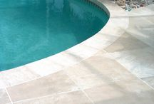 Tiled concrete pool