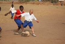 Sightsavers and football / We've paid homage to the influence football has had on some of the young people living in African countries where Sightsavers works. And spoken to a professional footballer about his sight!