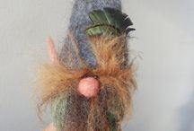 Needle Felt Gnome