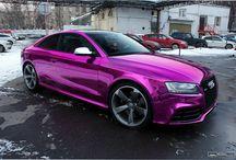 Funky car paints