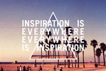 Random Inspiration / Inspiration from anything, anywhere.