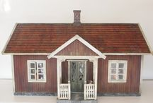 Swedish dollhouses and miniatures