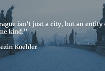 Quotes / Quotes about Prague and travel in general.