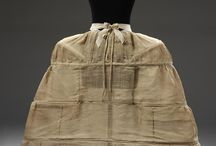Panniers / A study in 18th century panniers. Shapes and sizes