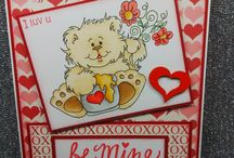 High Hopes Stamps Valentine's Day Cards / High Hopes Stamps Valentine's Day Cards