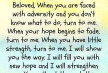 Jesus whispers....