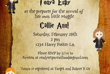 HP baby shower / Baby shower ideas for Jennie and Shelley's little wizard / by Donna Adamek