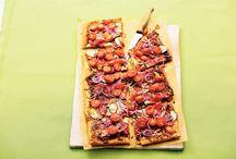 Recepten pizza-plaattaart