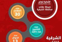 خريطة مقاعد وعدد الناخبين في محافظة الشرقية / يحتوي الانفوجرافيك علي خريطة لمقاعد محافظة الشرقية خلال المرحلة الثانية من الانتخابات البرلمانية 2015