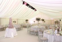 Frame Marquees / Our high apex clear span marquees are our toughest, most spacious and versatile marquee.   You can choose from 3, 6, 10, 12 and 15 meter widths - And they can be as long as you like in length.  They don't just look great on the outside, we have everything you need to make them look amazing internally as well.