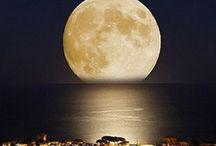 noc ,księżyc
