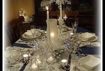 Weihnachten weiß silber