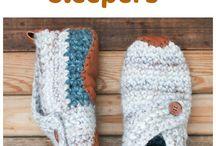 scarpe in lana