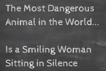 deadly women quotes