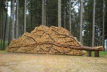 Sculpture - timber