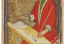 Medieval tarot cards