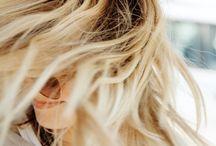 Blonde haren