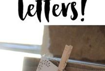 Printable letters