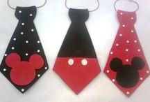 corbatas mickey