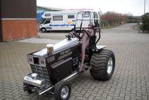 Tractor/gardenpulling