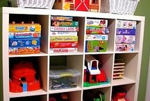 Kids play area organisation