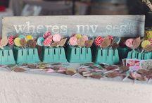 Ike & Amanda / Blue Green Boho Eclectic Nature Wedding / by Sarah Gaikwad