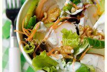 Rabbit Food - Salad Recipes / by Amy Adahl