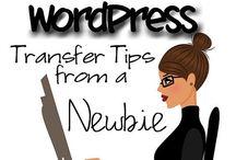 Changing blogger