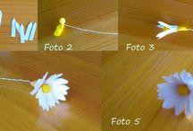 Fiori / Fiori creati con materiali di ogni tipo