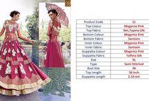 2634 Zoya Crystal Embroidery And Resham Work Salwar Kameez