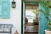 Home Girl: Entryway/Front Door / by Michelle C